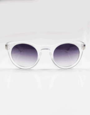 LUXE CLEAR RETRO SUNNIES