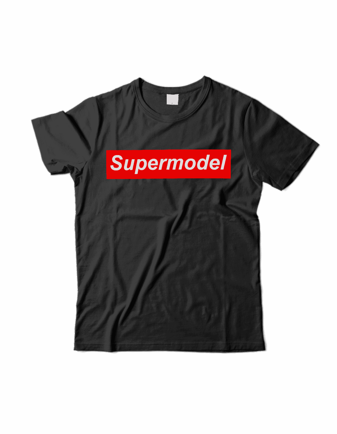 Supermodel T Shirt -Black